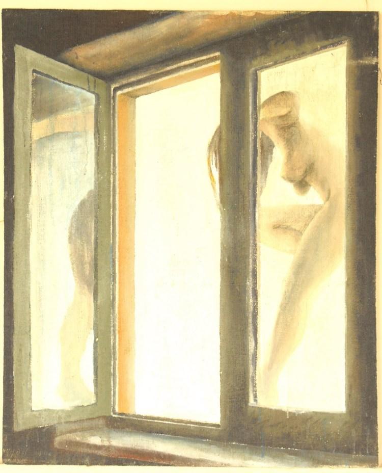 A žena mi vlezla oknem do pokoje
